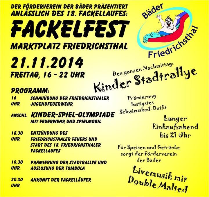 Fackelfest des Förderverein