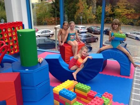 Neue Spielecke im Hallenbad Friedrichsthal
